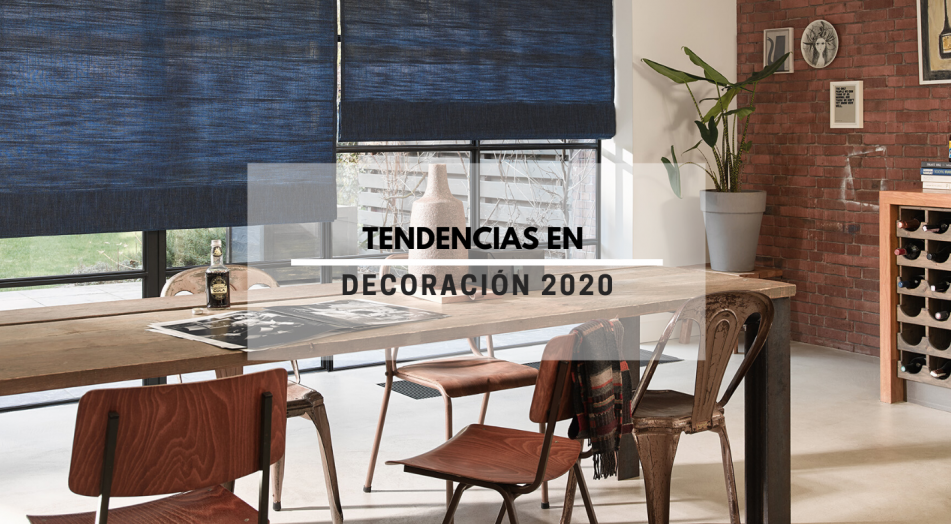 Tendencias en decoración 2020